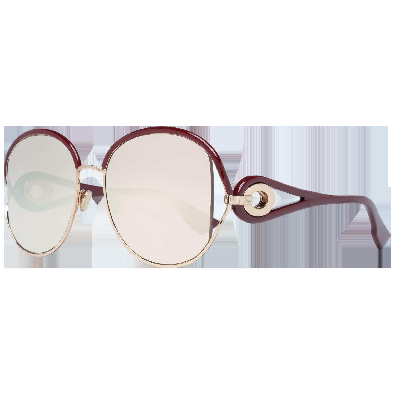 Christian Dior Sunglasses Diornewvolute NOA SQ 57 Burgundy