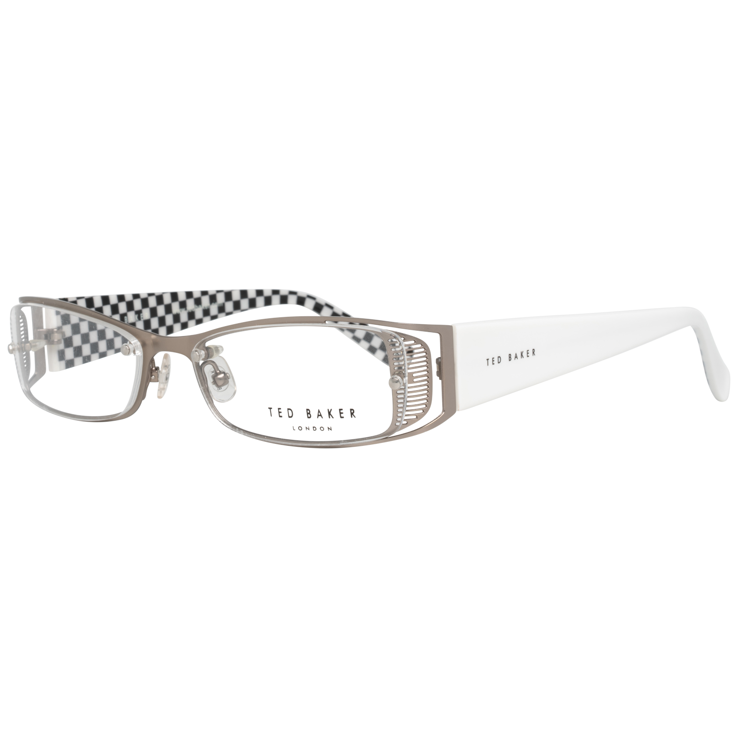 Ted Baker Optical Frame TB4135 861 55 Silver