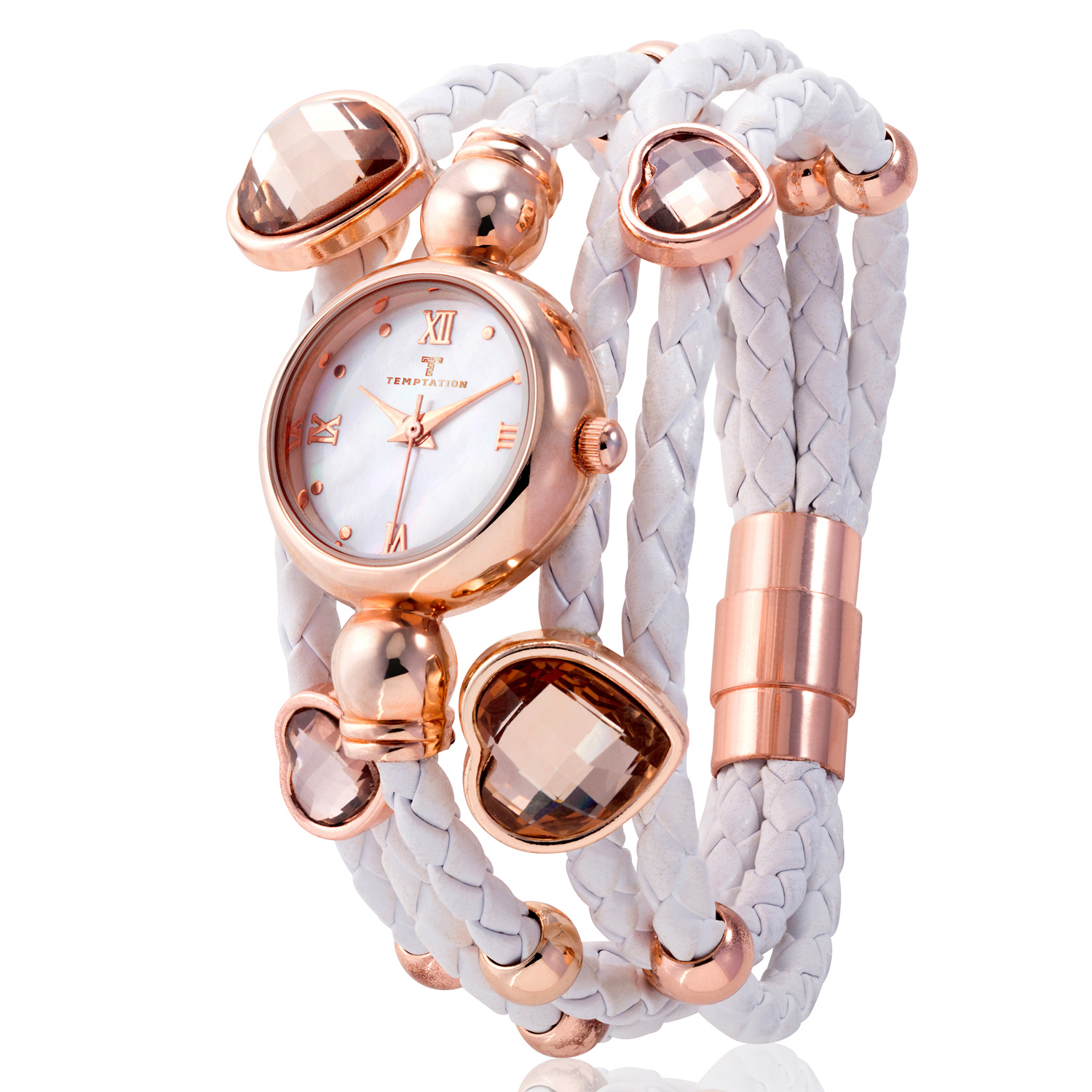 Temptation Watch TEA-2015-03 Rose Gold