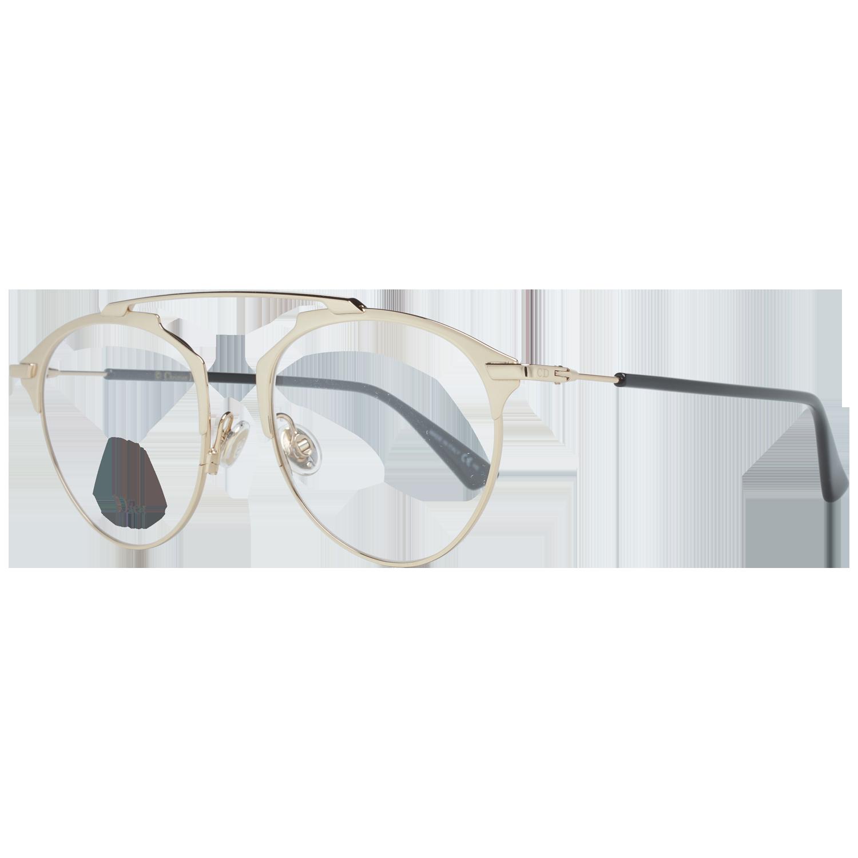 Christian Dior Optical Frame DIORSOREALO J5G 50 Gold