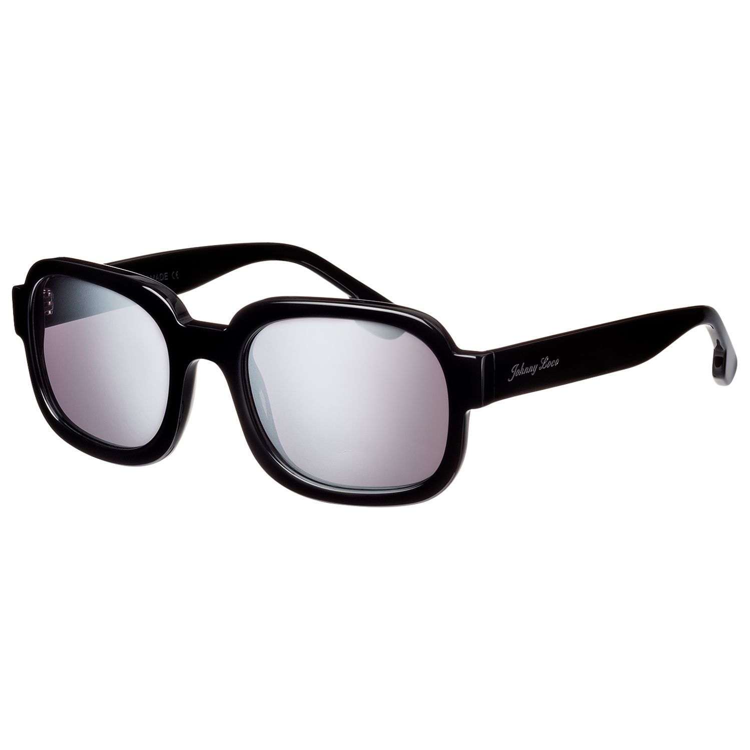 Johnny Loco Sunglasses JLE1506 A3-S 52 Tyler Black