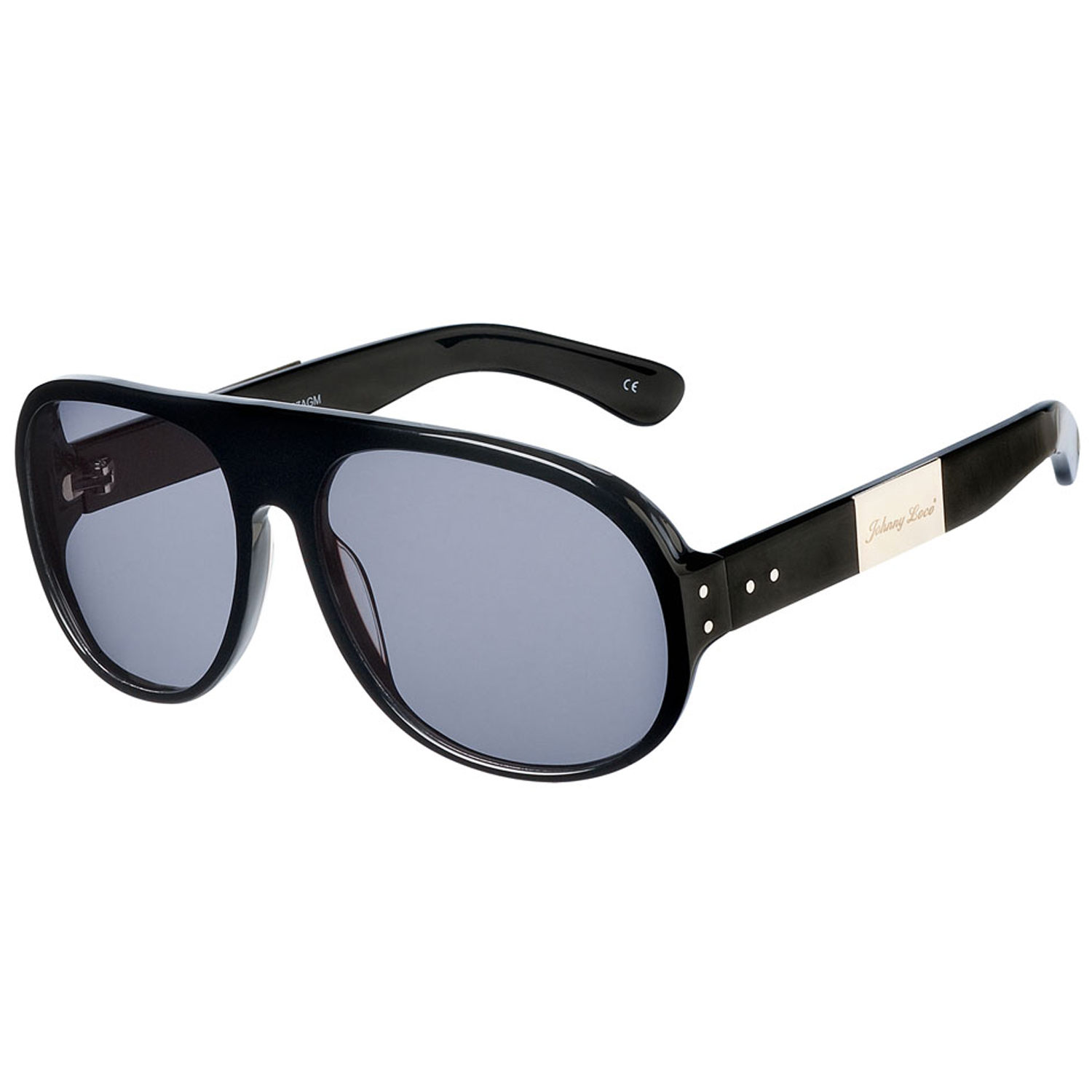 Johnny Loco Sunglasses S-1137 AGM 60 The Doctor Black