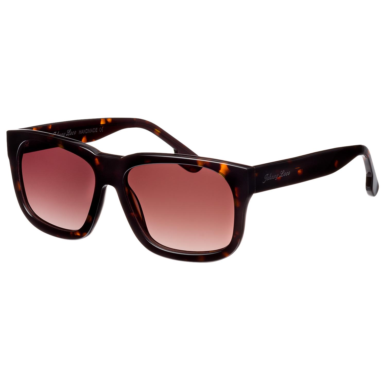 Johnny Loco Sunglasses JLE1505 B2 54 The Dude Brown