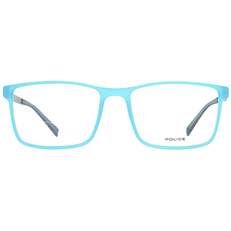 Police Optical Frame VPL258 3GRG 54 Turquoise