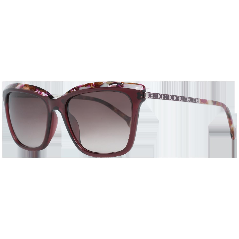 Carolina Herrera Sunglasses SHE689 0V01 54 Burgundy