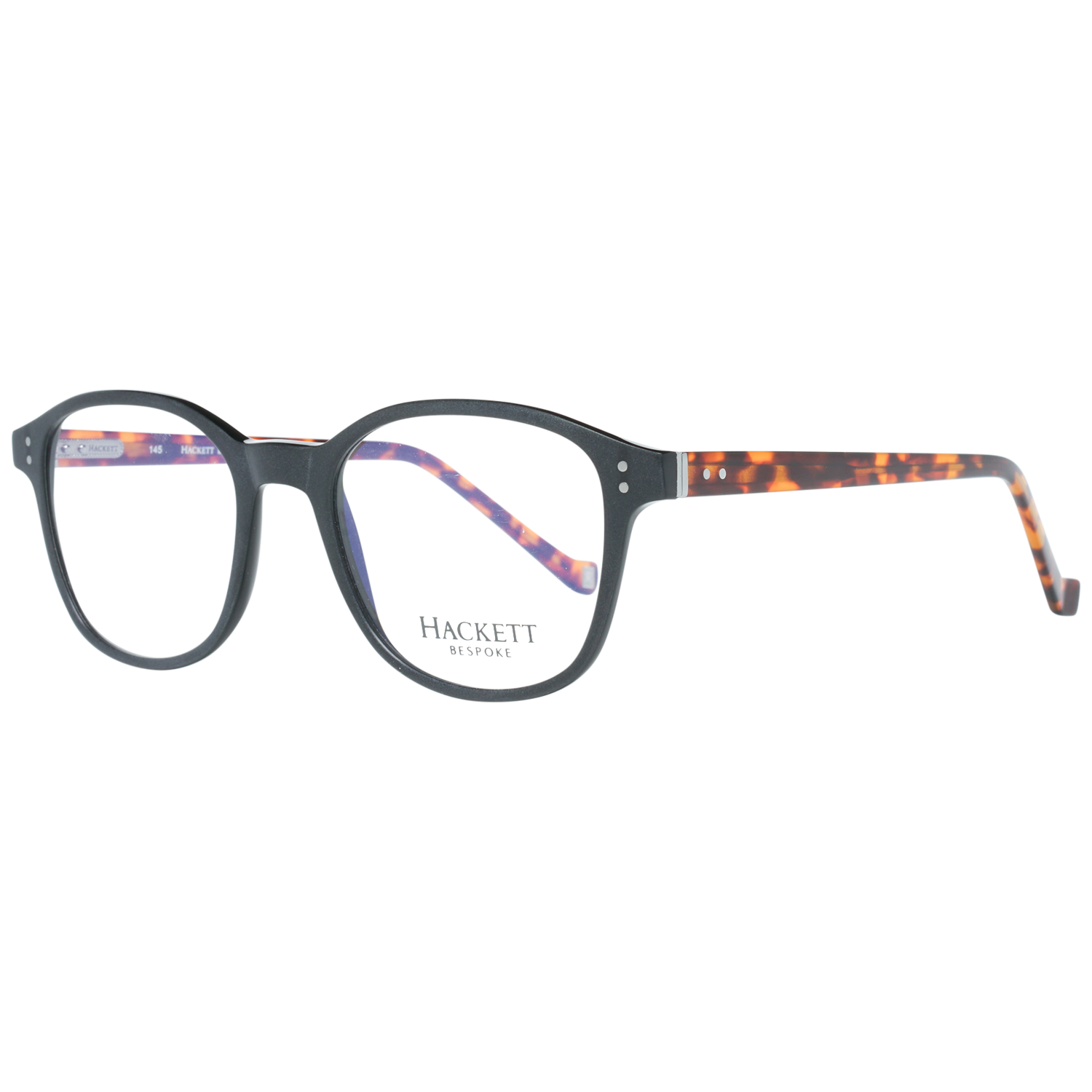Hackett Bespoke Optical Frame HEB206 002 50 Black