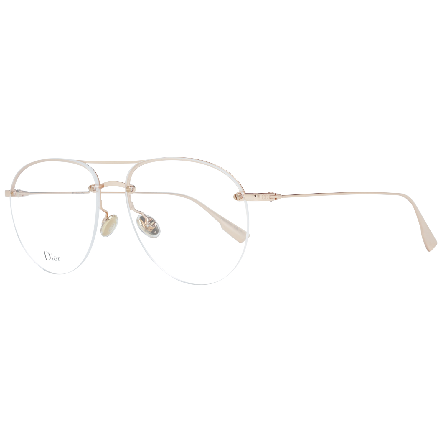 Christian Dior Optical Frame STELLAIREO11 DDB 55 Rose Gold