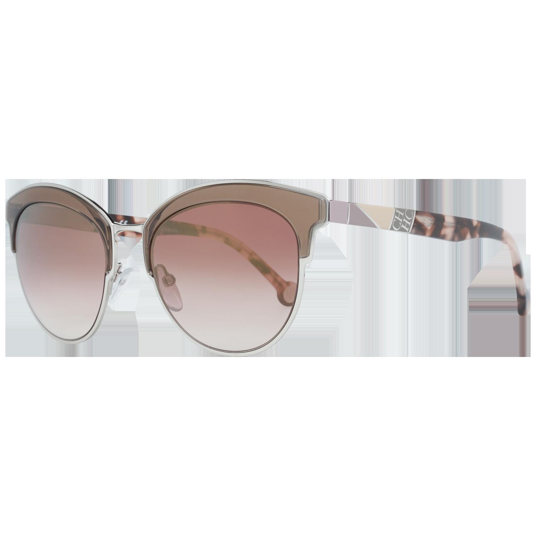 Carolina Herrera Sunglasses SHE101 0523 52 Silver