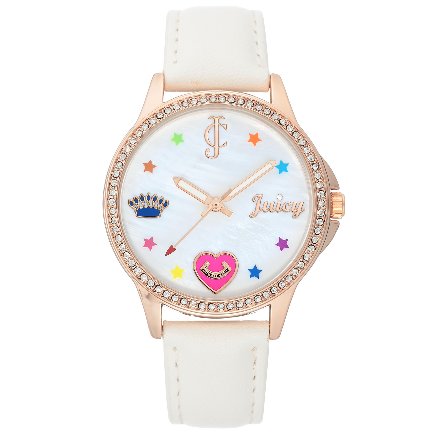 Juicy Couture Watch JC/1106RGWT White