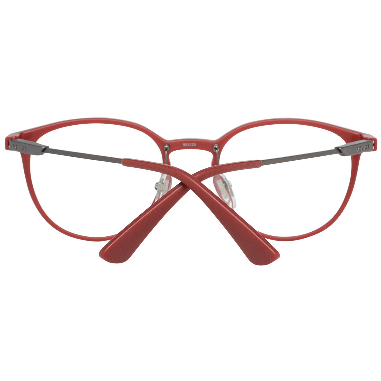 Police Optical Frame VPL695 07L2 50 Red