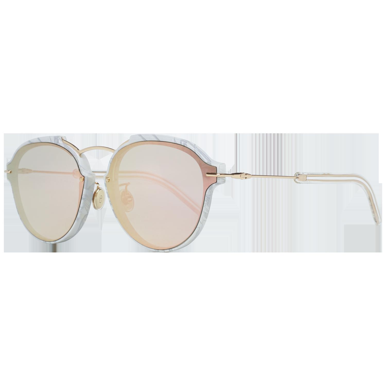 Christian Dior Sunglasses DIORECLAT GBZ 60 Gold