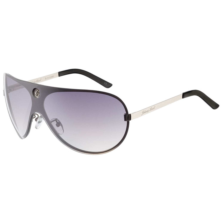 Johnny Loco Sunglasses S-1111 28M 133 Foley Silver